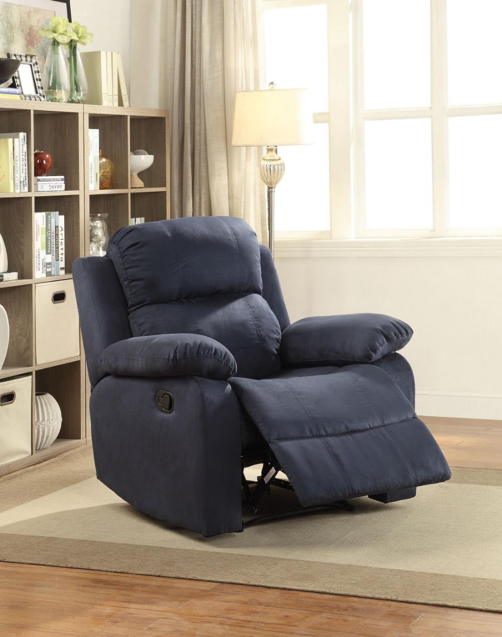 Parklon Blue Chair Single Sofa Chair Swing Chair Bedroom Recliner Chair