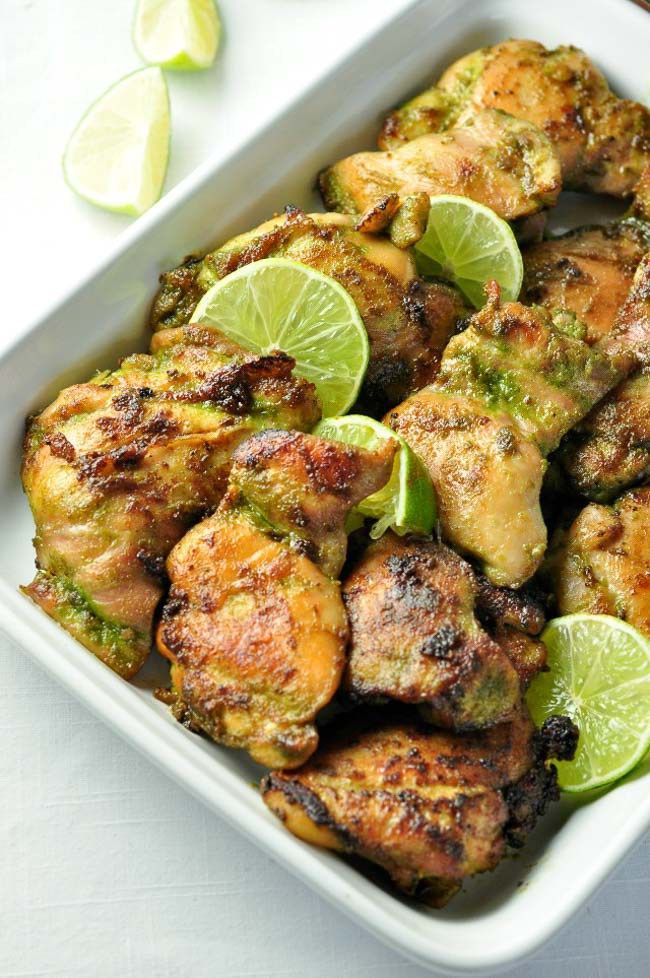 Easy Thai Baked Chicken - Flavour and Savour