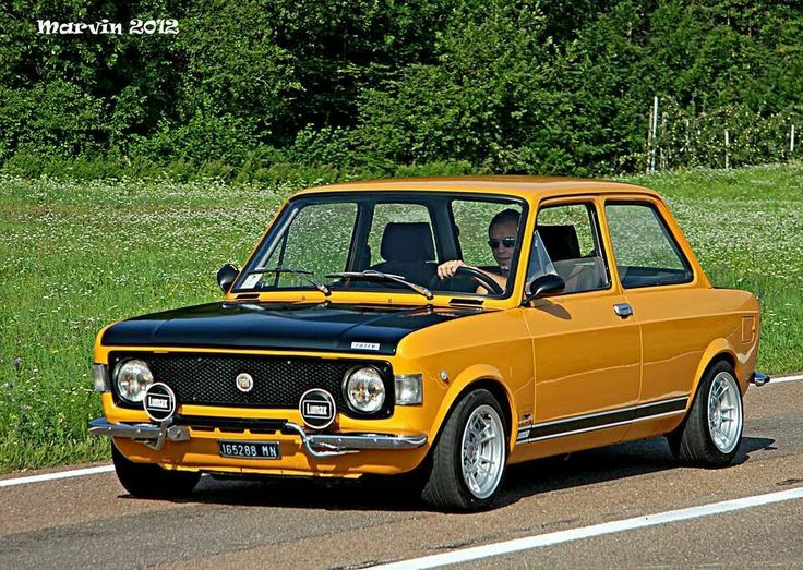 128 Rally Abarth Wheels Autos Coches Vehiculos
