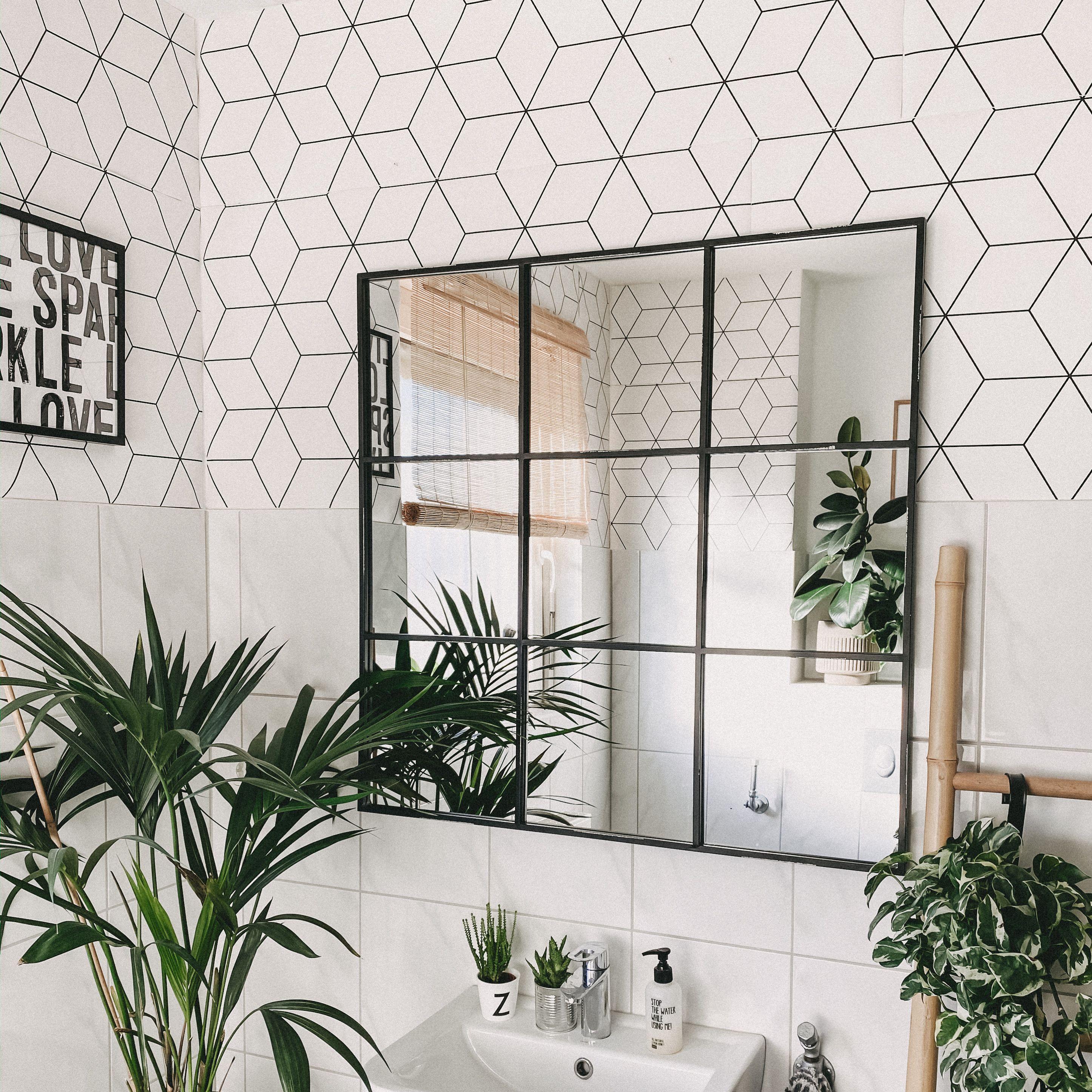 Badezimmer Spiegel Industrial Look In 2020 Mirror Interior Mirror Industrial Mirrors