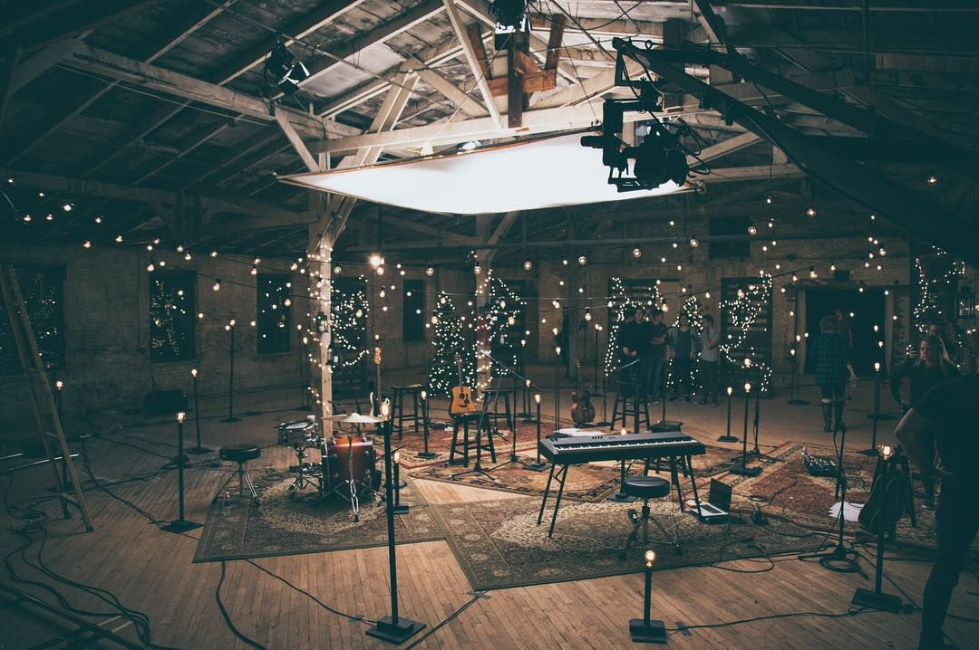 Bts Christmas Music Video Filming Pro Church Media Cinematic Lighting Church Stage Design Lighting Setups