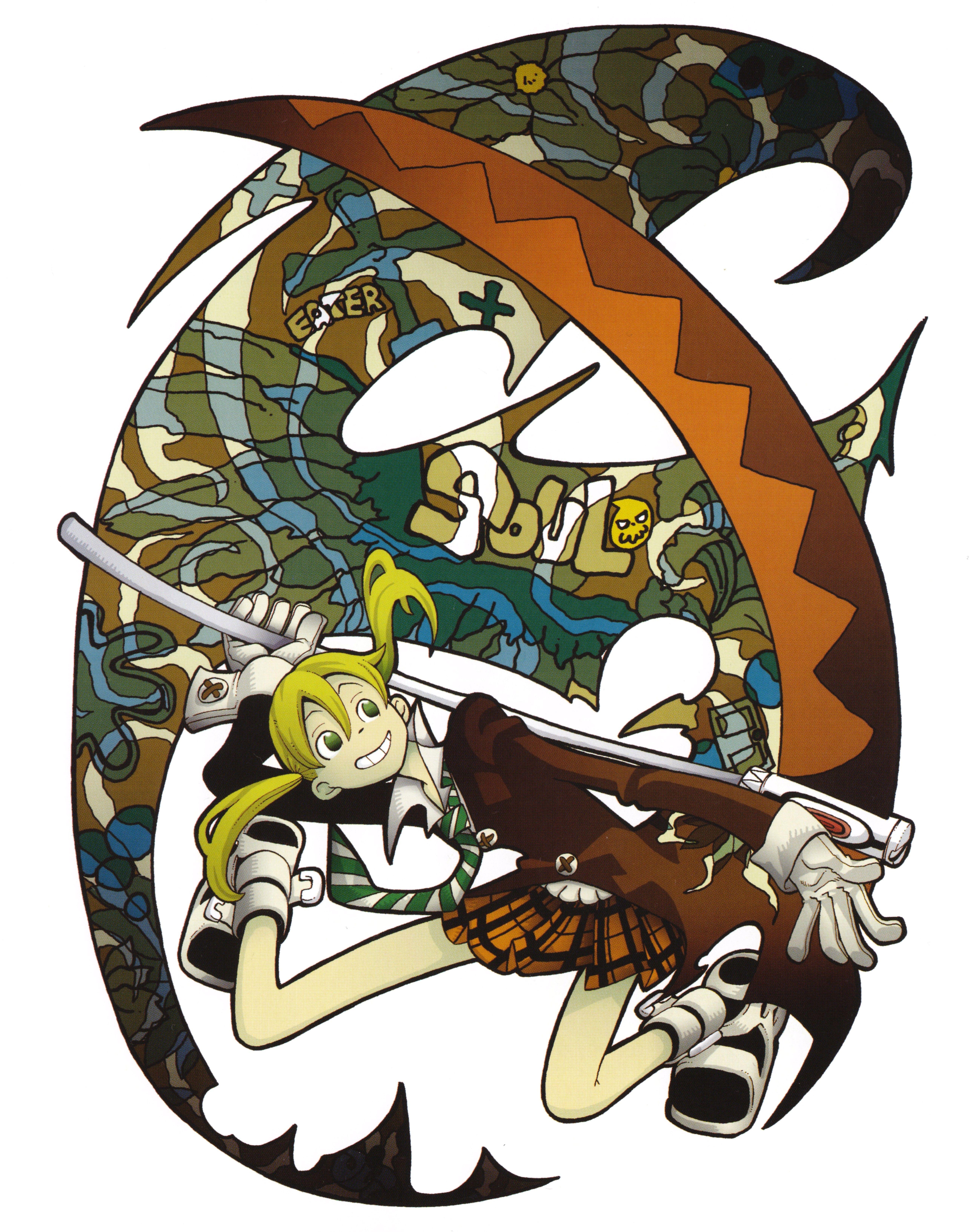 Download Soul Eater Soul Art P 57 5192x6536 Minitokyo Soul