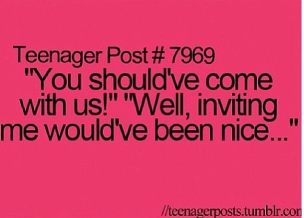 Teenager Posts You Just Realized Relatable Post Teenager Posts