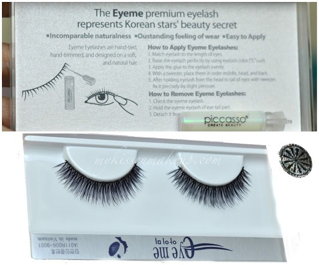 1 Eyeme Lashes No. 20 from Piccasso