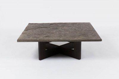 table-basse-plateau-ardoise-pieds-bois-1950-design-vintage-galerie44 ...