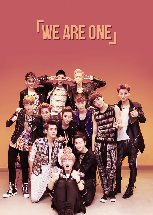 Exo~WE ARE ONE <3