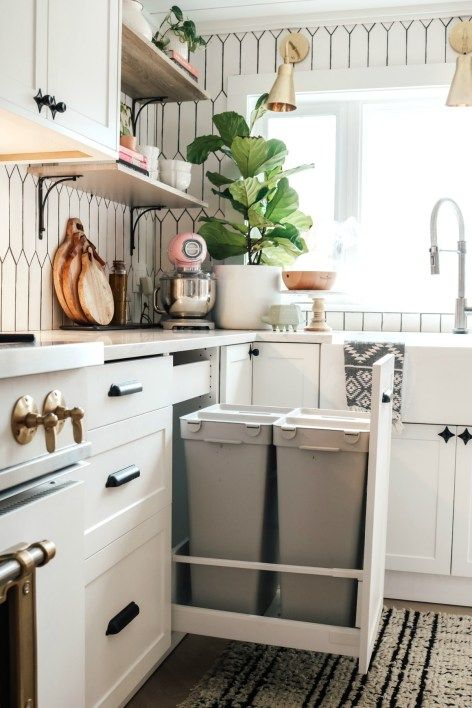 Inside our Kitchen Cabinets- Organizing Ideas | Nesting with Grace | On the blog, I'm sharing how we organize our kitchen drawers and spices, pantry, and cabinets for a functional family space! #pantryorganization #kitchenorganization
