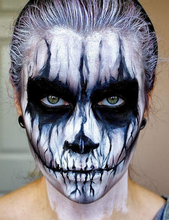 Aqui Tienes Las Fotos De Maquillaje De Halloween Para Hombres - Maquillaje-zombie-hombre
