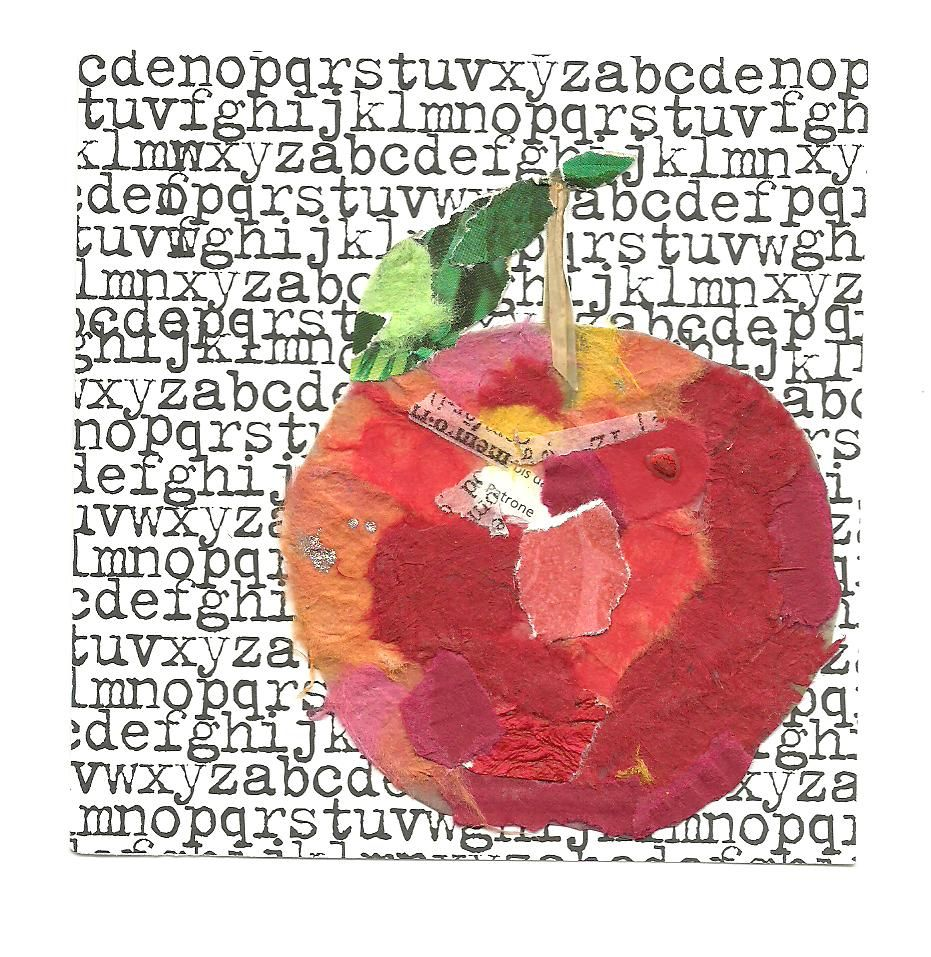 collage with apples | JLH Mind Mutterings: Collage Apple
