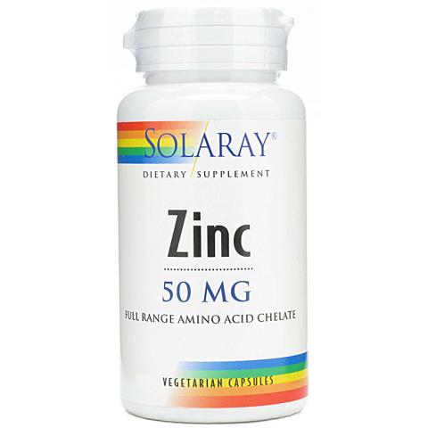 Zinc de Solaray es un complemento nutricional que aporta