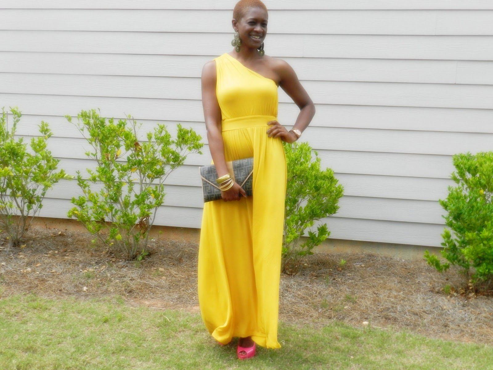 Black Dress Yellow Shoes Wore Maxi Dress And Earrings Funky Flair Boutique Shoes Guess Yellow Maxi Fashion Maxi Dress [ 1200 x 1600 Pixel ]