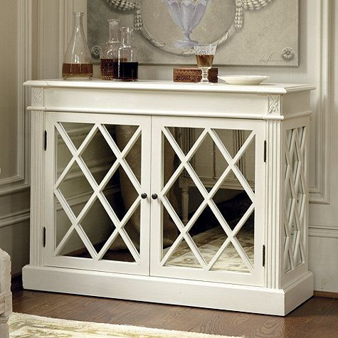 Biarritz Mirrored Console Consoles Living rooms and Room