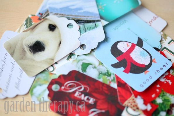recycling cards into gift tags, crafts, repurposing upcycling***** Please save me your Christmas cards****  will be glad to recycle them for you.....