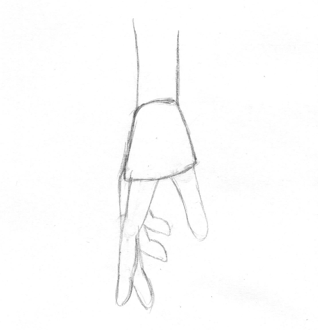 Learn To Draw Anime Hands Pencil Sketch