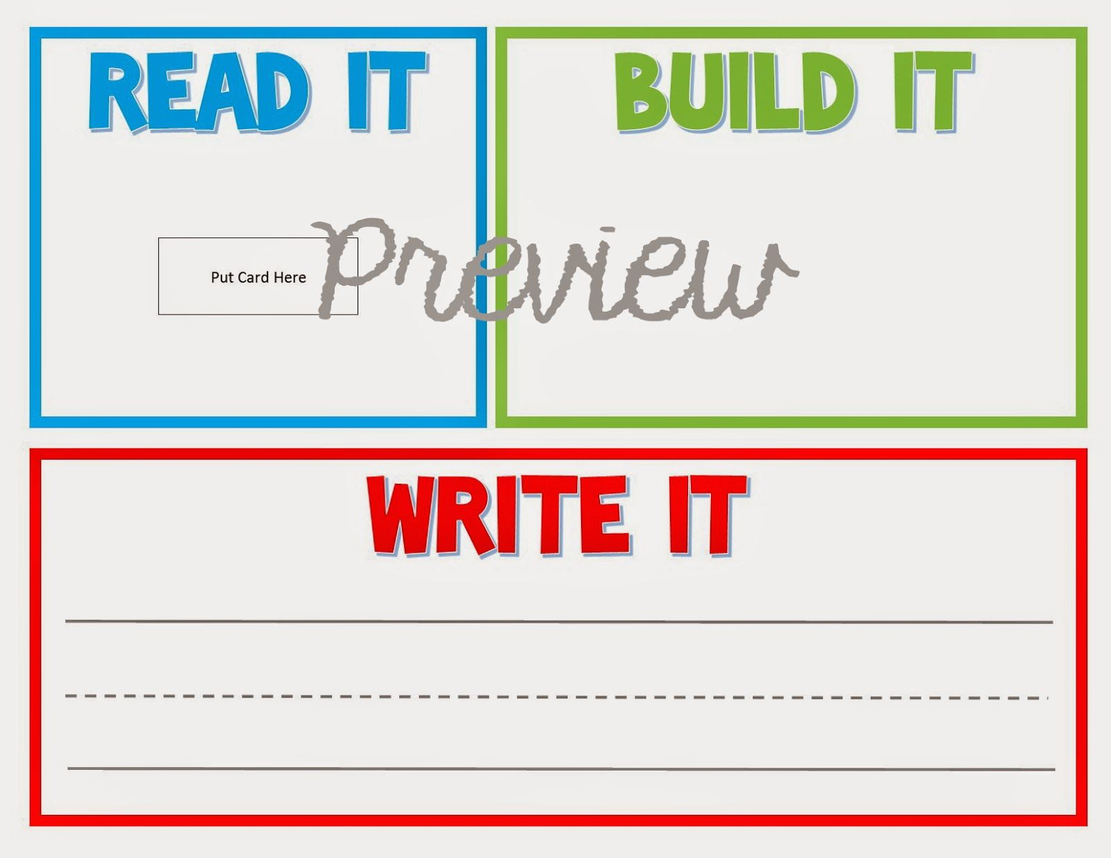 I Ve Just Added A New Kit Called Read It Type It Write