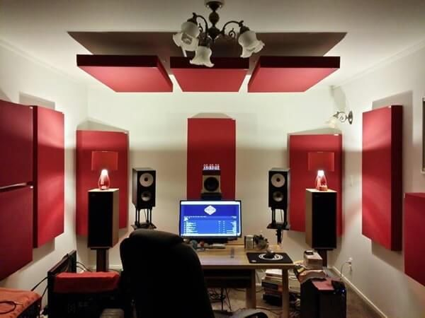 Exceptionnel A Killer Studio Treated With GIK Acoustics Absorption Panels. Looks Great  And Probably Sounds Better