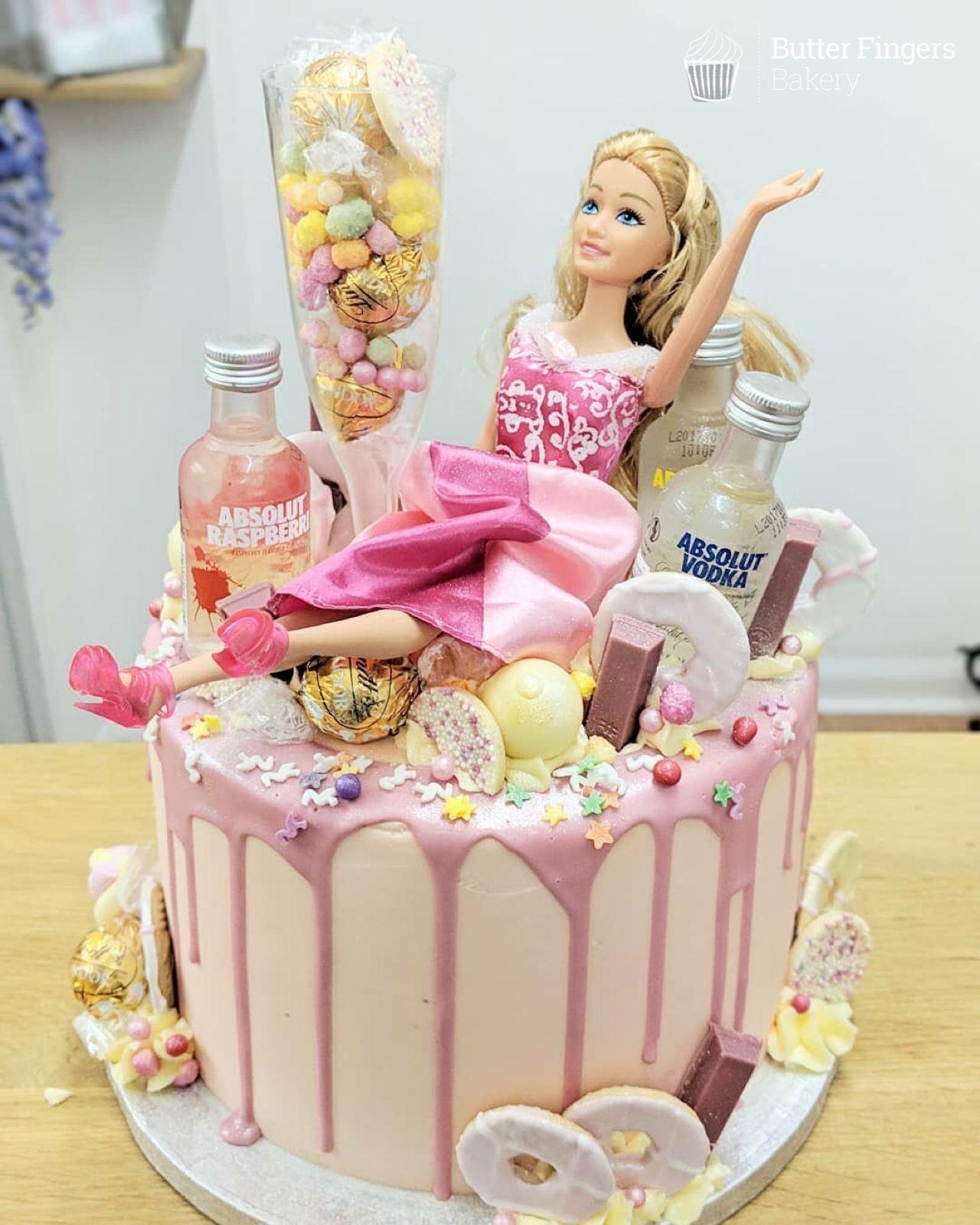 Terrific Tasty Homemade Cakes Baked Freshly In Matlock Girly Birthday Funny Birthday Cards Online Elaedamsfinfo