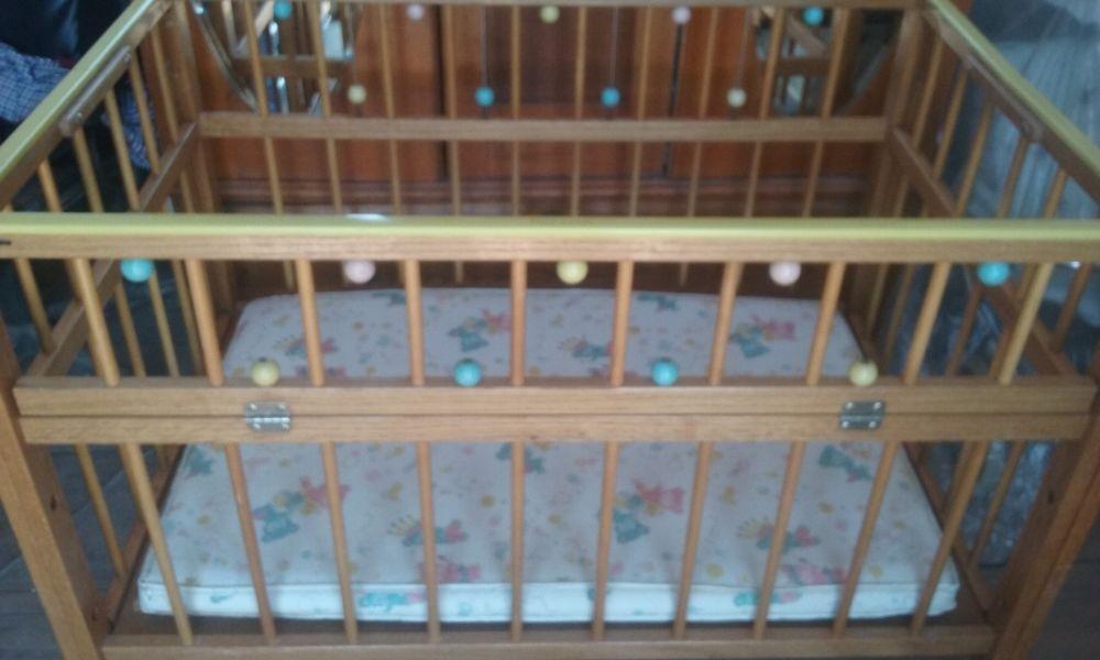 Details About Vintage Retro 1950 S Port A Crib Wooden