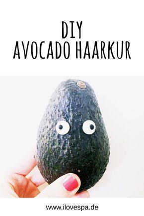 home spa selbstgemachte avocado haarkur fà r trockene sommerhaare