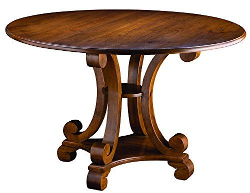 Mackenzie Dow Fine Furniture Round Capella Dining Table 54 Inch