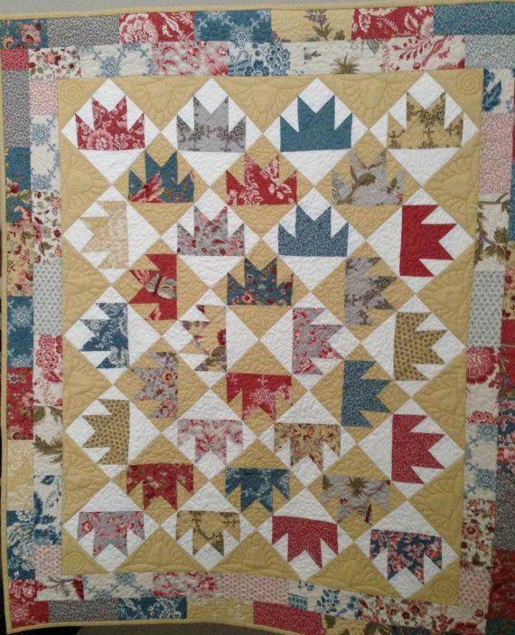 Bear Paw Quilt Wall Hanging Or Table Topper Bear Paw Quilt Quilts Quilted Wall Hangings