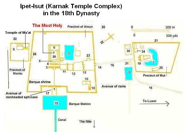 karnak temple map  Google Search | Thebes | Temple, Diagram, Map