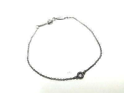 022eb5275 Auth TIFFANY&Co. By The Yard Silver Diamond Bracelet (eBay Link ...