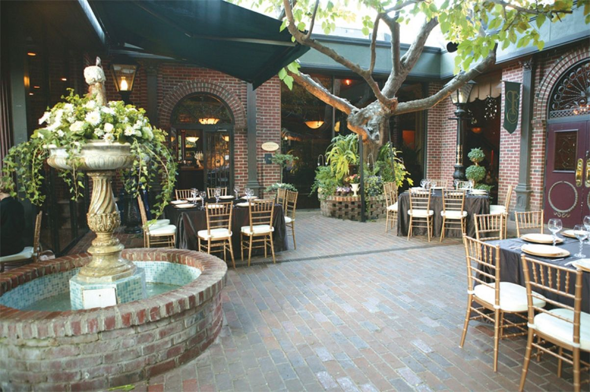 The Firehouse Sacramento Weddings Restaurant