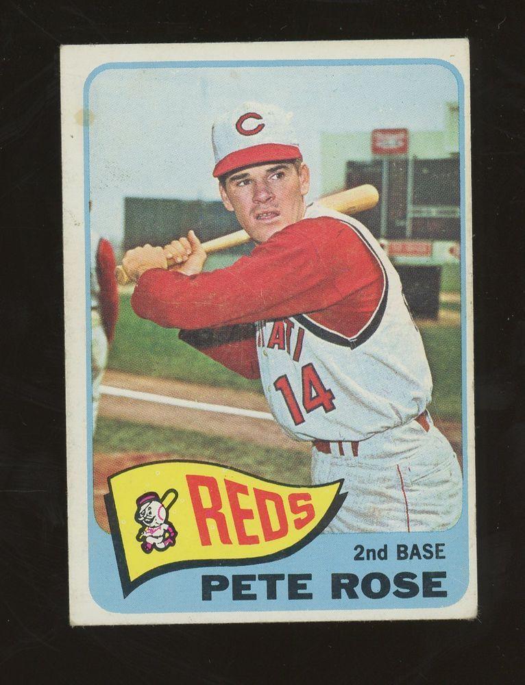 1964 Topps Pete Rose Baseball cards, Baseball card