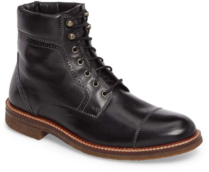 J\u0026M 1850 Forrester Cap Toe Boot | Cap