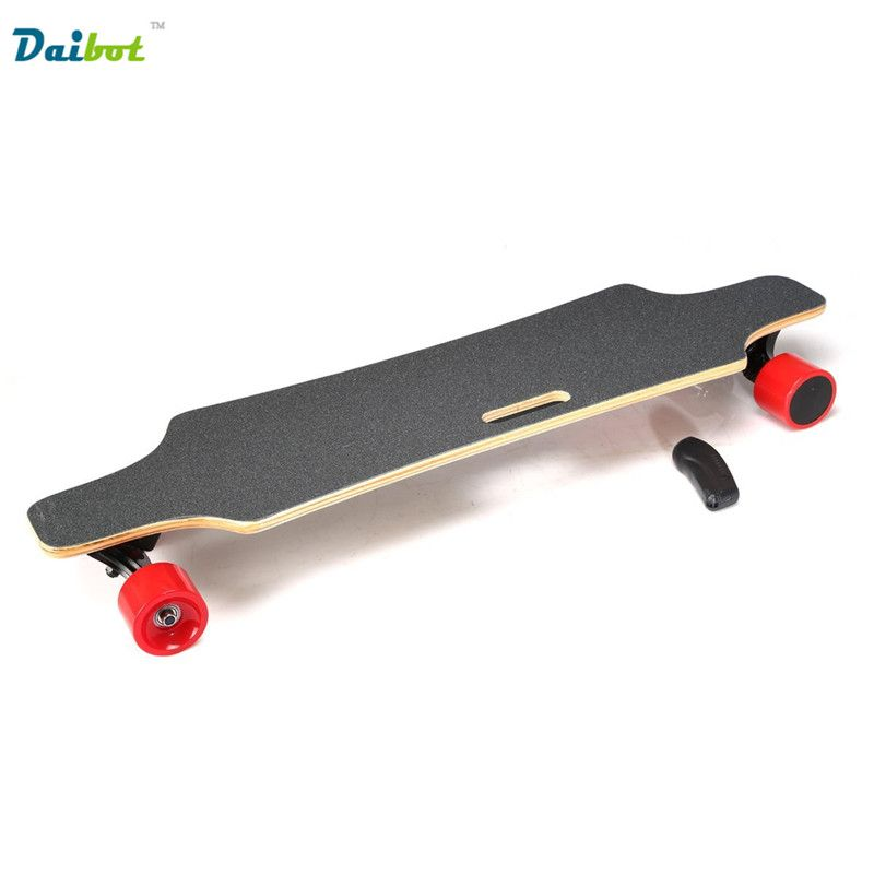 5834c58a6505 Speed 40KM/h Samsung Remote Control Double Motors 300W*2 4 Four Wheels  Electric Skateboard Hoverboard Longboard Scooter Board