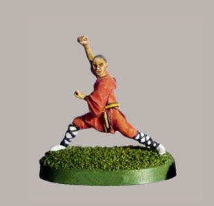 Shaolin Monk Miniatures from CP Miniatures
