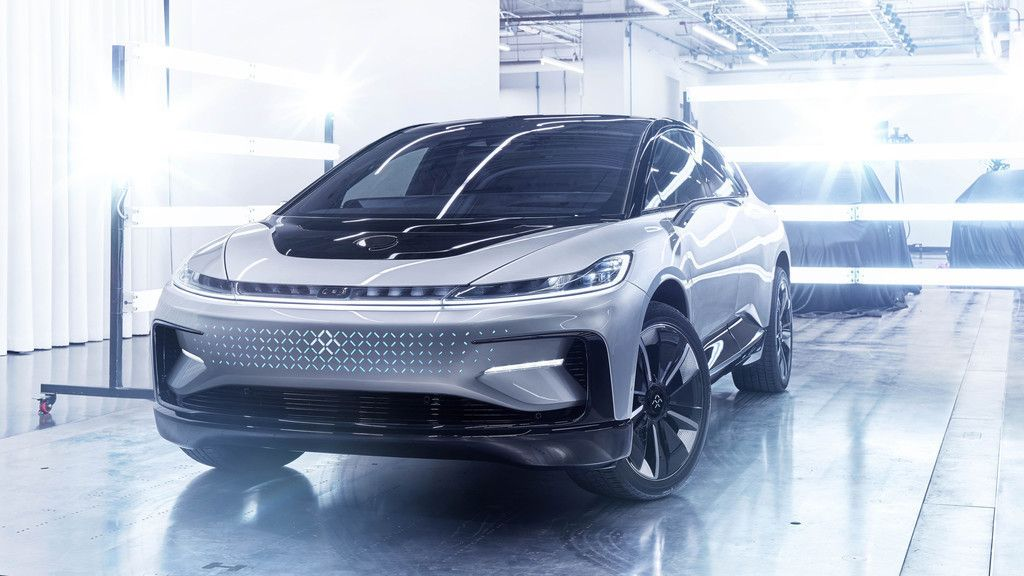 Faraday Future Ff91 Car Front View 4k Wallpaper Faraday Future Car Wallpapers Car