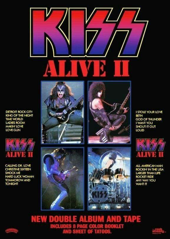 Alive Ll Kiss Album Covers