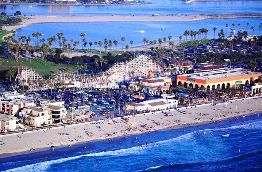 Mission Beach San Go Ca