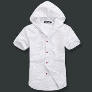 Buttoned up shirt with a hoodie  23.95 outfitters, really cute, reminds me of elementary years