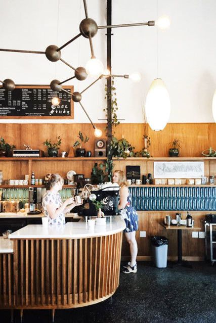 The Coolest Design Y Coffee Shops In The U S Coffee Shop Small Coffee Shop Cool Designs