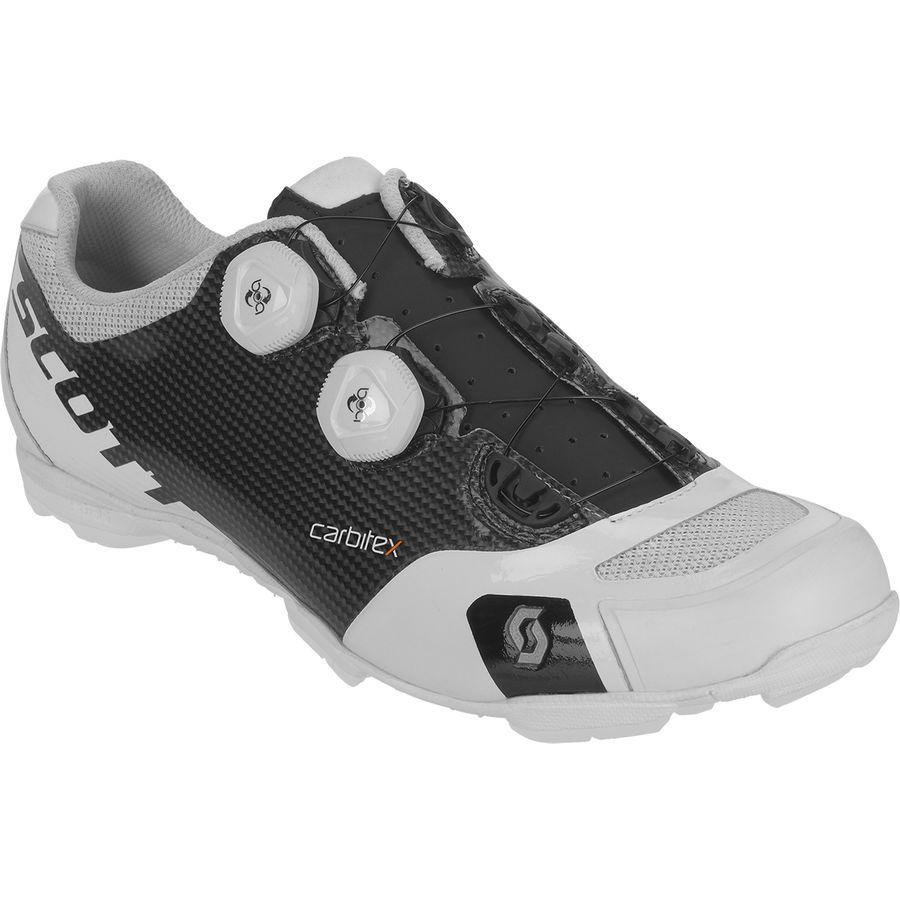 6164e8ada9 Scott - MTB RC SL Shoe - Men s - Matte Black Gloss White