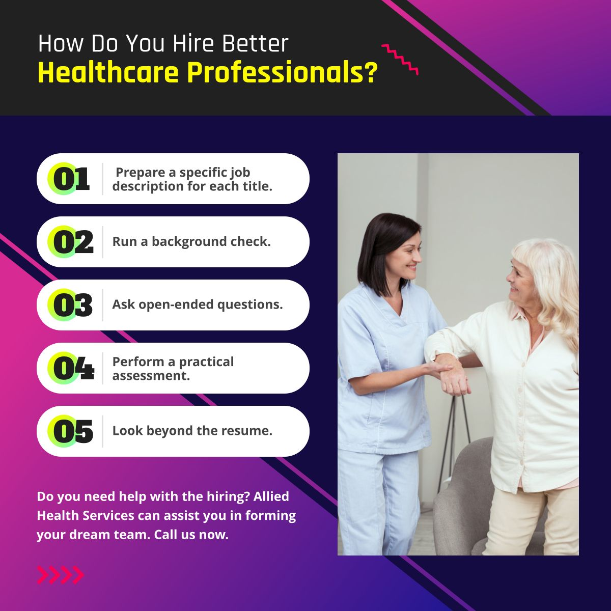 How Do You Hire Better Healthcare Professionals?