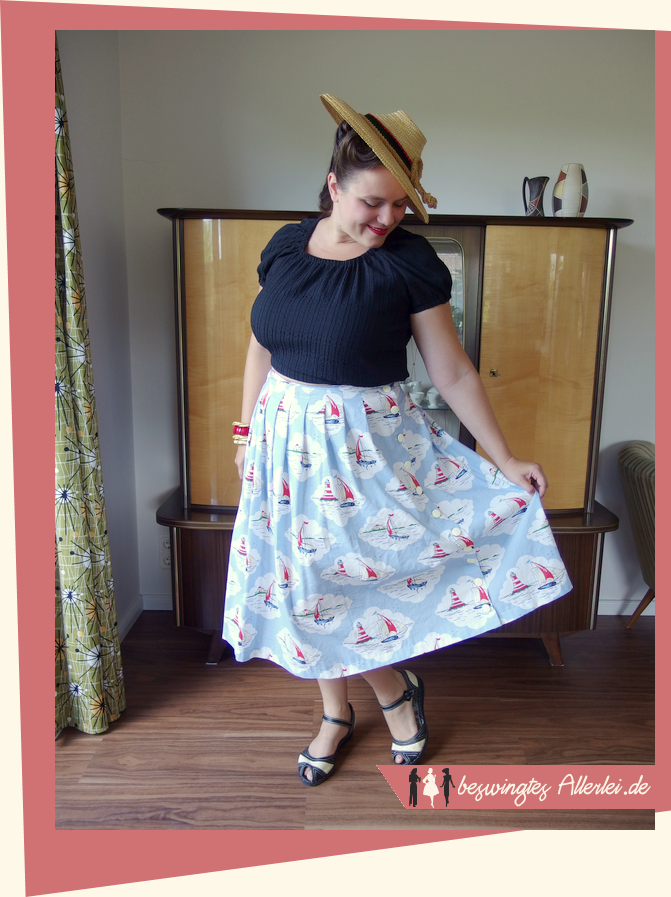 Sommerliches Outfit - Vintage summer outfit (Beswingtes Allerlei)