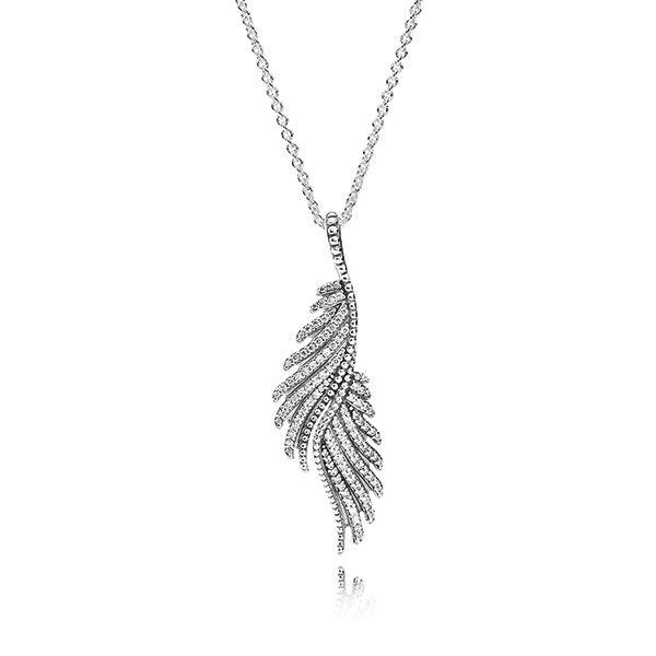 Pandora majestic feathers pendant feathers pendants and short pandora majestic feathers pendant aloadofball Image collections