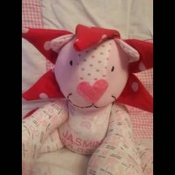 Emma Chapman The Crafty Mouse, toys made from baby clothes