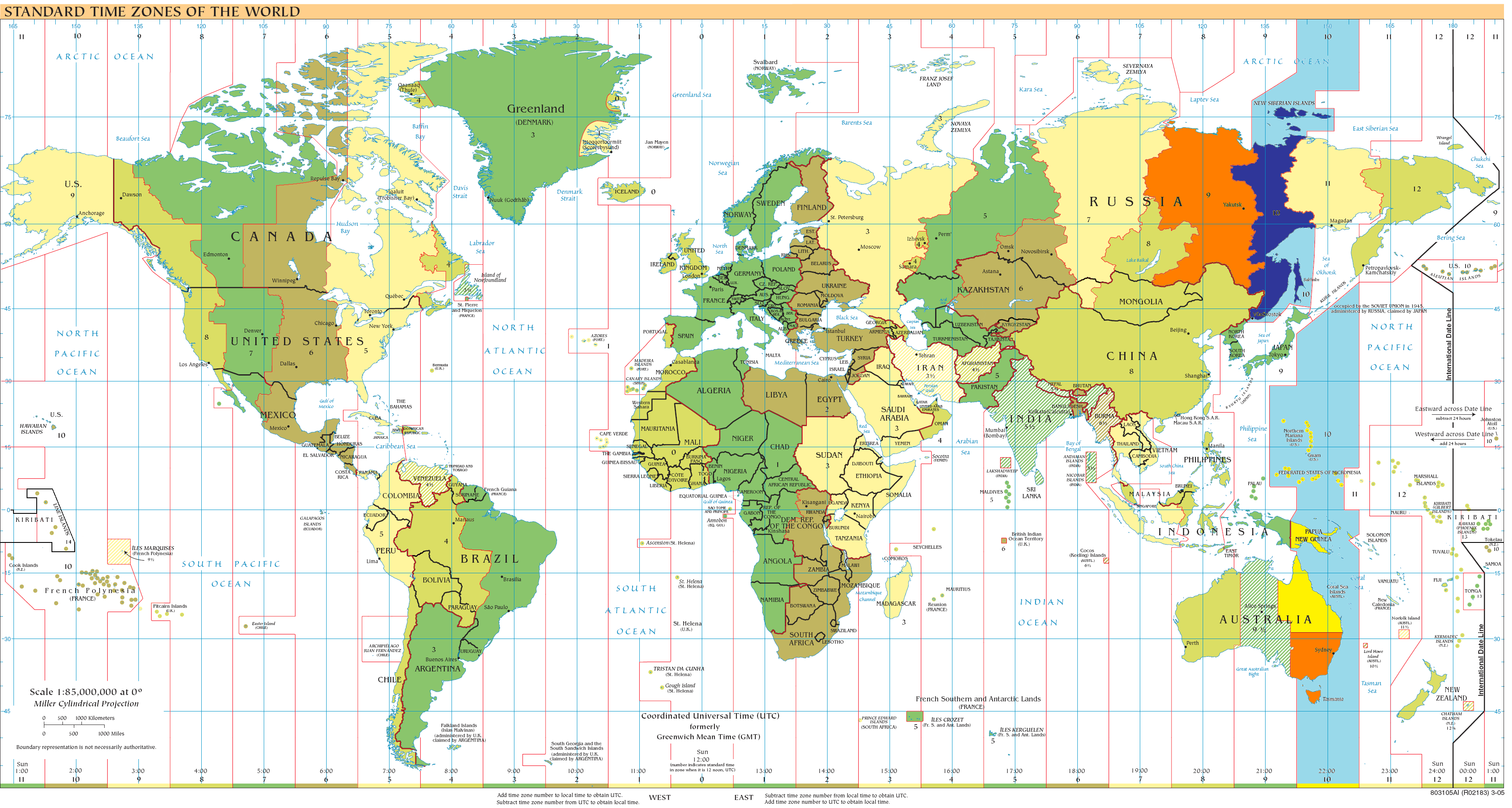 The World Map Reducing Complexity Of Reading The