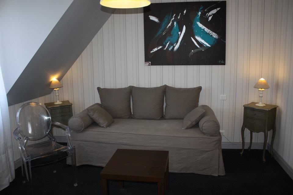 Idée décoration suite beige - Hôtel de charme La Villa Cap d\u0027Ail
