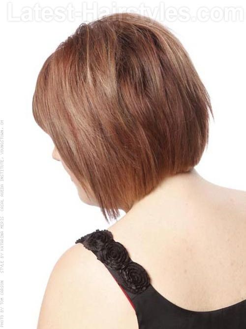 Hairstyle Tutorial Layered Up Lush Style Bob Back View