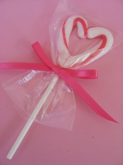 DIY - Candy Cane Hearts
