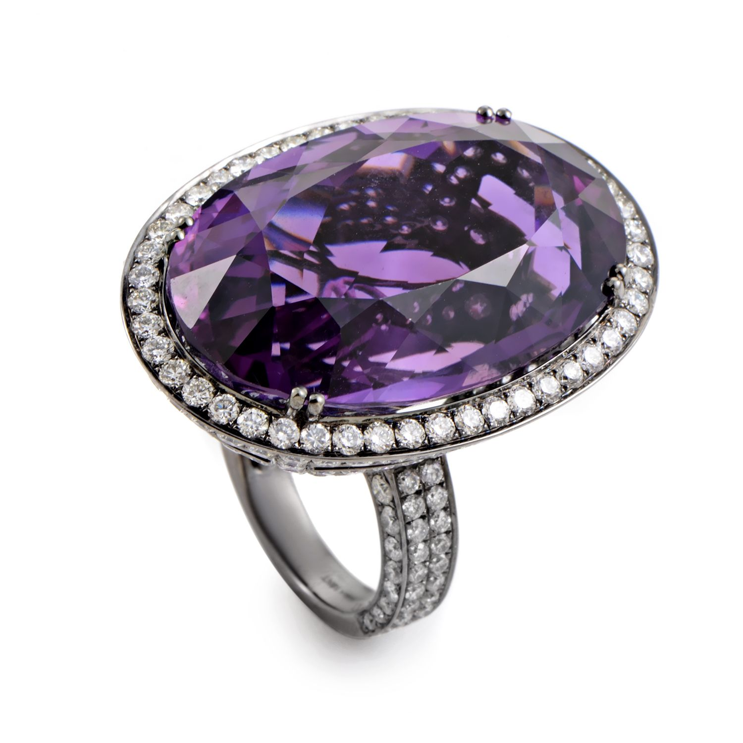A tasteful selection of harmonious colors and prestigious materials, this ingenious ring from Odelia boasts a truly extraordinary design, setting a fa...