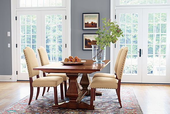 Ethan allen furniture interior design for Ethan allen dining room