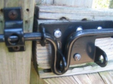 Beautiful Vinyl Fence Gate Latch Collar And For Ideas