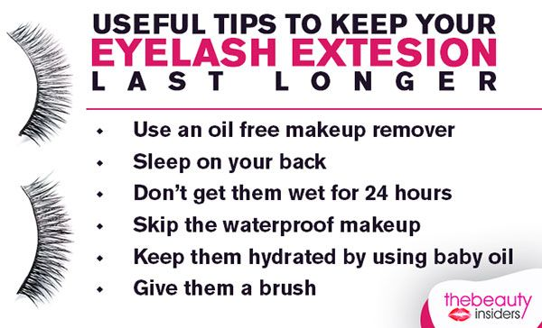 Eyelash Extension Aftercare: Important Tips To Protect ...